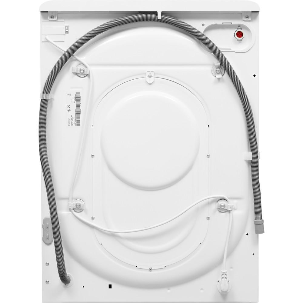 Indesit Vaskemaskin med tørketrommel Frittstående XWDE 1071481XWKKK EU Hvit Front loader Back / Lateral
