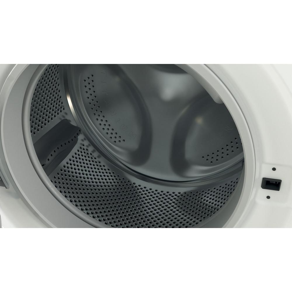 Indesit Lavadora secadora Libre instalación BDE 861483X WS SPT N Blanco Cargador frontal Drum