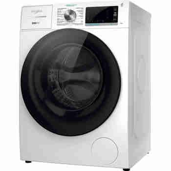 Whirlpool Wasmachine Vrijstaand W7 W845WB BE Wit Voorlader B Perspective