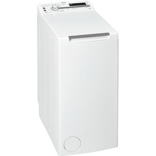 Whirlpool Máquina de lavar roupa Independente com possibilidade de integrar TDLR 65210 Branco Carregador superior A+++ Perspective