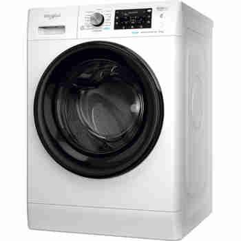 Whirlpool Maşină de spălat rufe Independent FFD 8638 BV EE Alb Încărcare frontală D Perspective