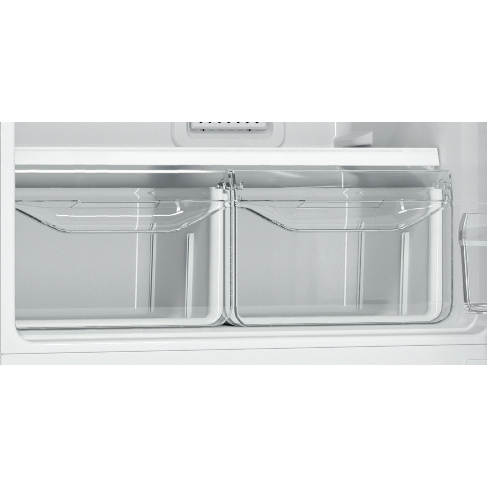 Indesit Холодильник с морозильной камерой Отдельностоящий EF 16 Белый 2 doors Drawer