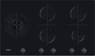 Whirlpool gas hob: 5 gas burners - GOWL 928/NB