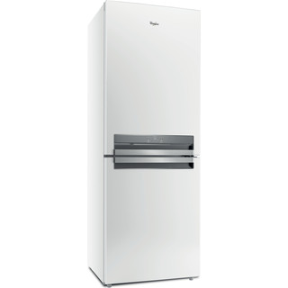 Whirlpool Συνδυασμός ψυγείου/καταψύκτη Ελεύθερο B TNF 5323 W 3 Λευκό 2 doors Perspective