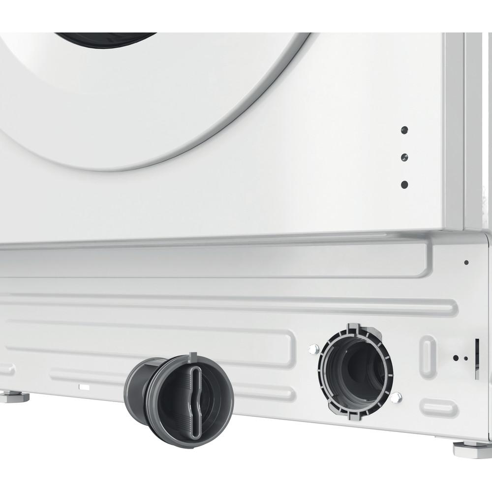 Indesit Washer dryer Built-in BI WDIL 75125 UK N White Front loader Filter
