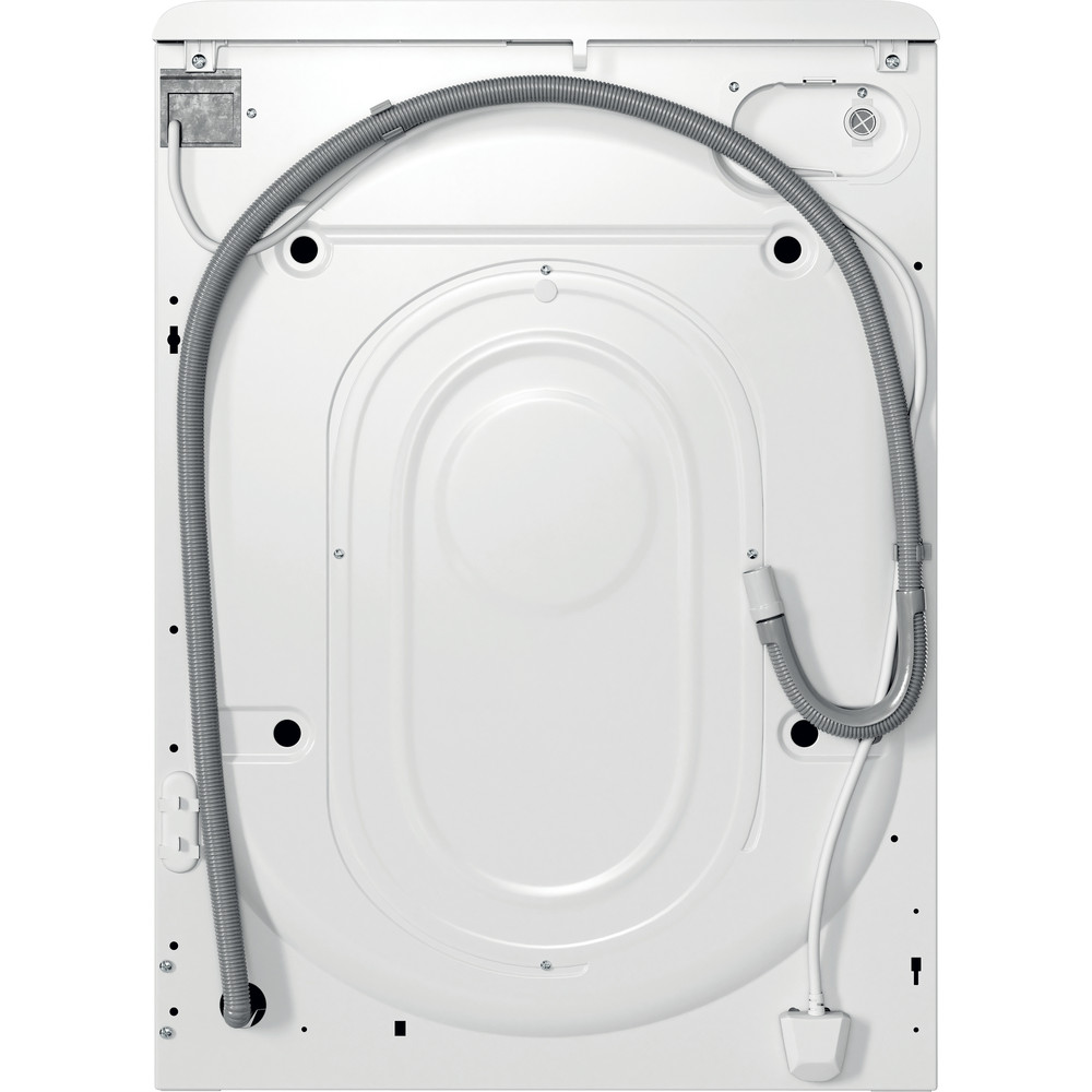 Indesit Пральна машина Соло OMTWSA 61052 W UA Білий Front loader A++ Back / Lateral
