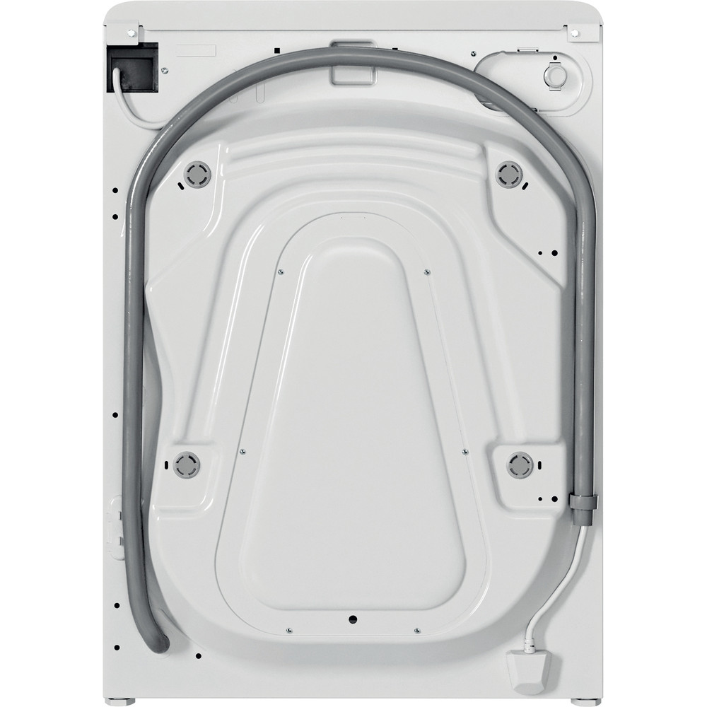 Indesit Tvättmaskin Fristående BWE 91484X WS EU N White Front loader C Back / Lateral