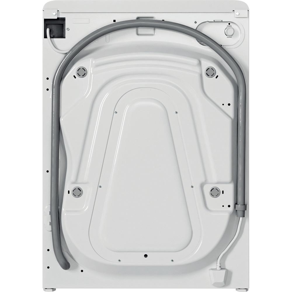Indesit Vaskemaskine Fritstående BWE 91484X WS EU N Hvid Frontbetjent C Back / Lateral