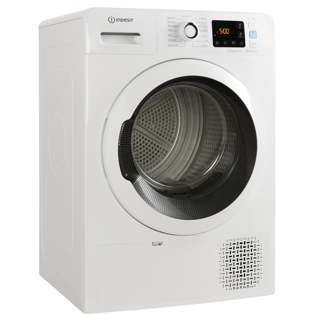 Indesit Droogautomaat YTBE M11 83K RX Wit Perspective