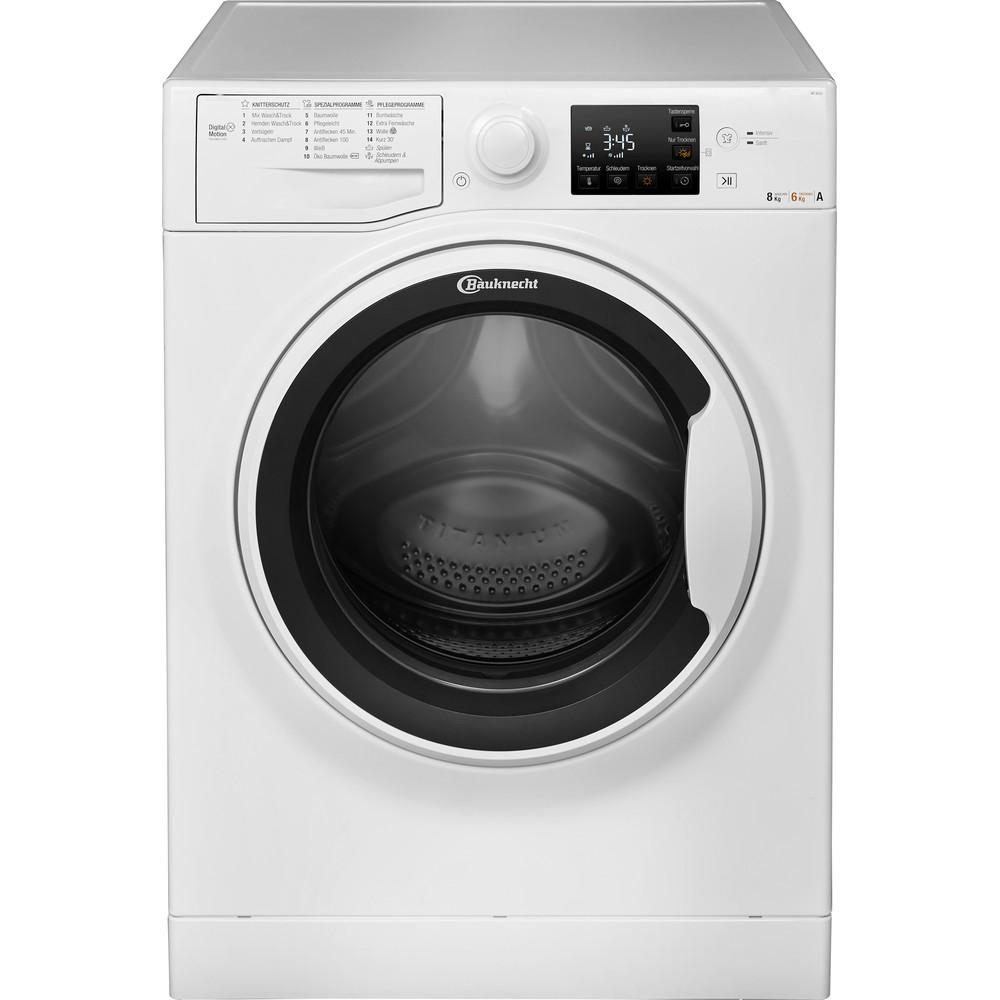 Bauknecht Waschtrockner Standgerät WT 86G4 DE Weiss Frontlader Frontal
