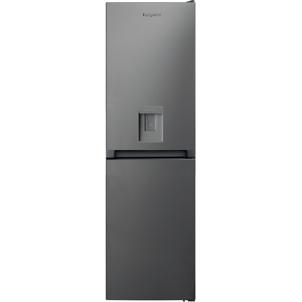 Hotpoint Fridge Freezer Free-standing HBNF 55181 S AQUA UK 1 Silver 2 doors Frontal
