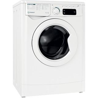 Indesit Waschtrockner Freistehend EWDE 761483 W DE N Weiß Frontlader Perspective