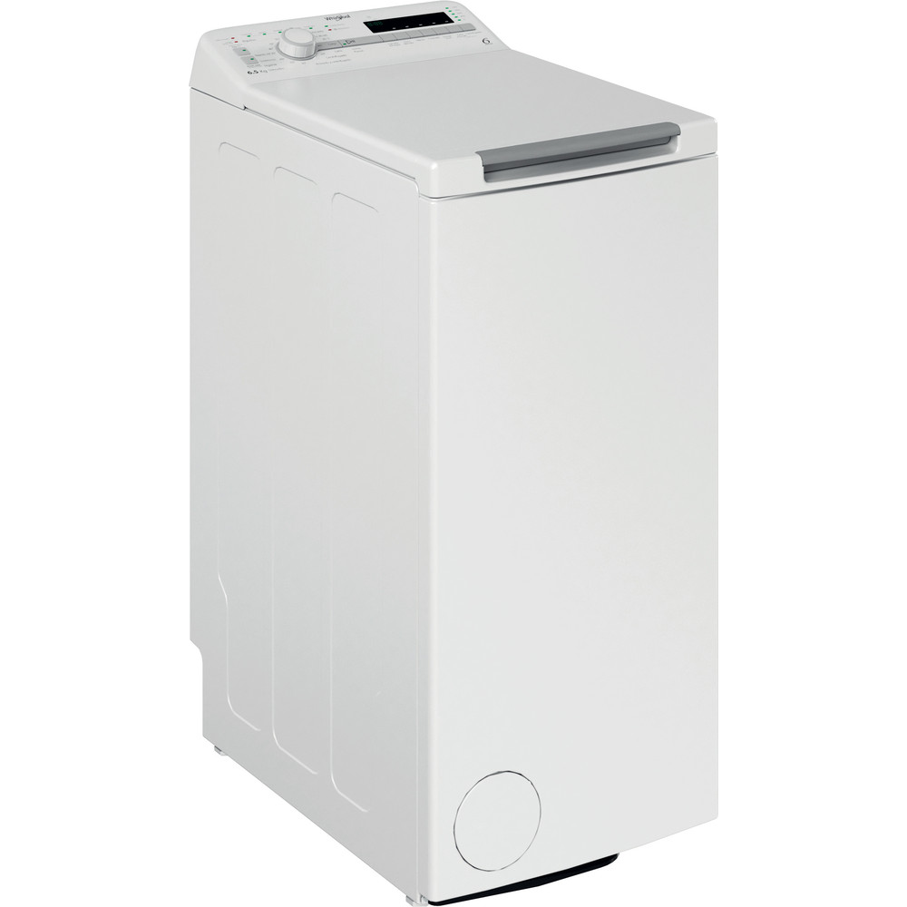 Lavadora carga superior de libre instalación Whirlpool: 6.5kg - TDLR 65230SS SP/N