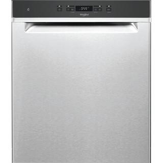 Whirlpool oppvaskmaskin: farge stål, 60 cm - WUC 3C33 F X