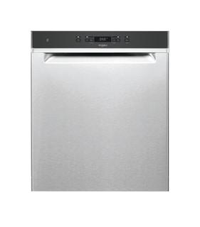 Whirlpool-opvaskemaskine: inox-farve, fuld størrelse - WUC 3C33 F X