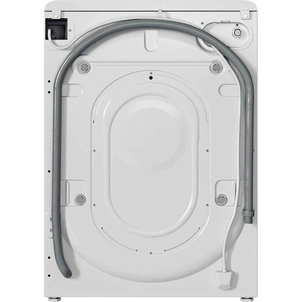 Indesit Pračka Volně stojící BWSA 71251 W EE N Bílá Front loader E Back / Lateral