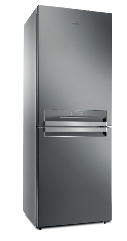Whirlpool Комбиниран хладилник с камера Свободностоящи B TNF 5322 OX2 Оптичен инокс 2 врати Perspective