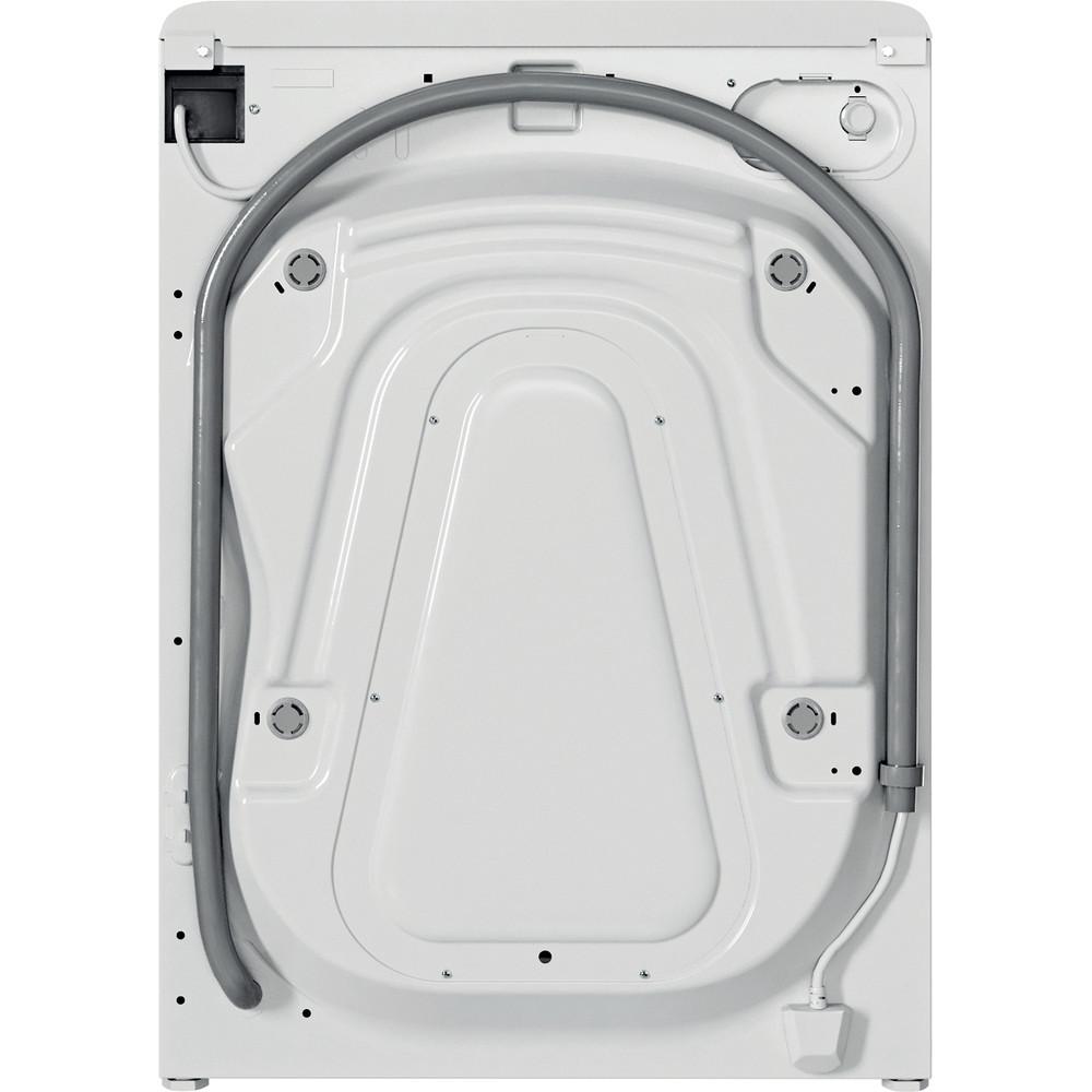 Indesit Lave-linge Pose-libre BWE 81683X WK EU N Blanc Frontal D Back / Lateral