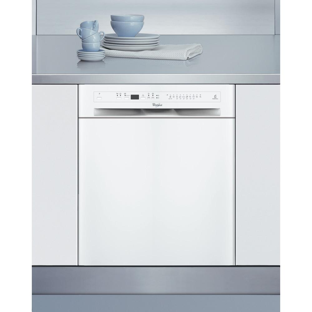 Whirlpool diskmaskin: färg vit, 60 cm - ADPU 8773 A+ PC 6S WH