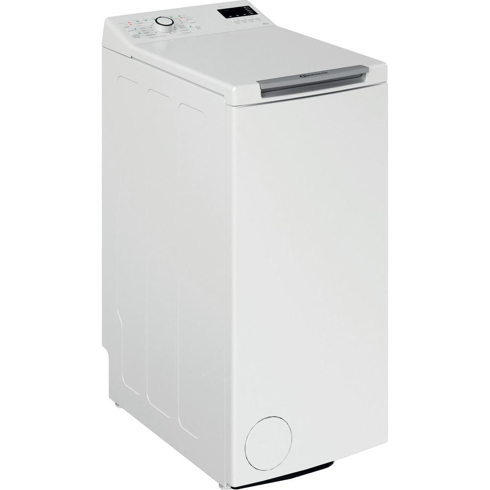 Bauknecht Waschmaschine Standgerät WMT Pro 7U SD N Weiss Toplader E Perspective