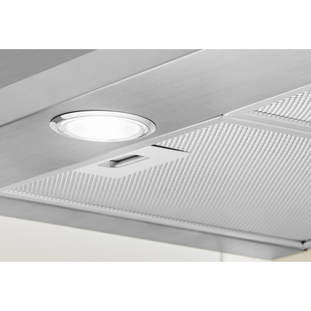 Indesit Exaustor Encastre IHPC 9.5 LM X Inox Wall-mounted Mecânico Lifestyle detail