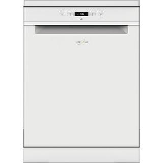 Whirlpool dishwasher: white color, full size - WFC 3B19 UK