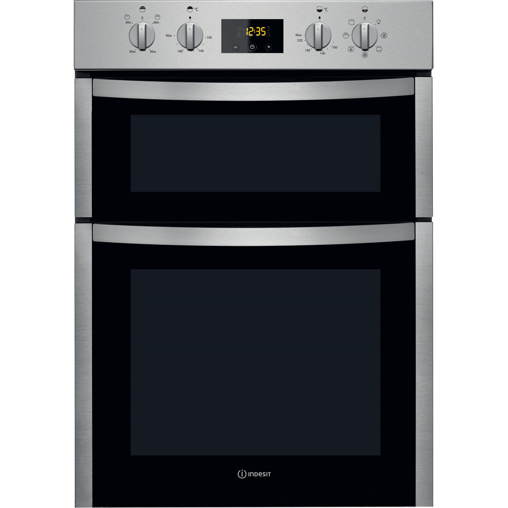Indesit Double oven DDD 5340 C IX Inox A Frontal