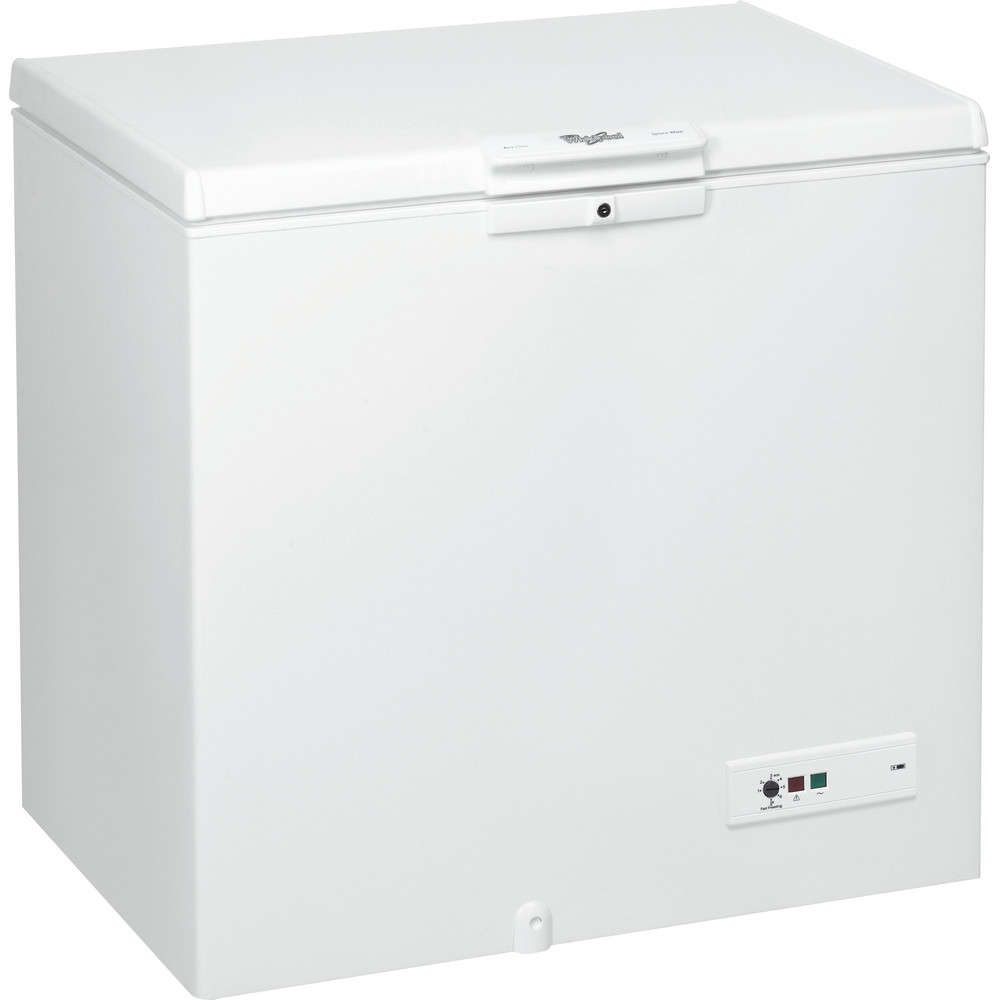 Whirlpool frysbox: färg vit - WHM31112