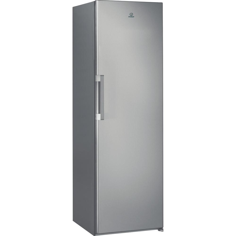 Indesit Réfrigérateur Pose-libre SI6 1 S Argent Perspective