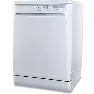 Indesit umývačka riadu: široká, biela farba