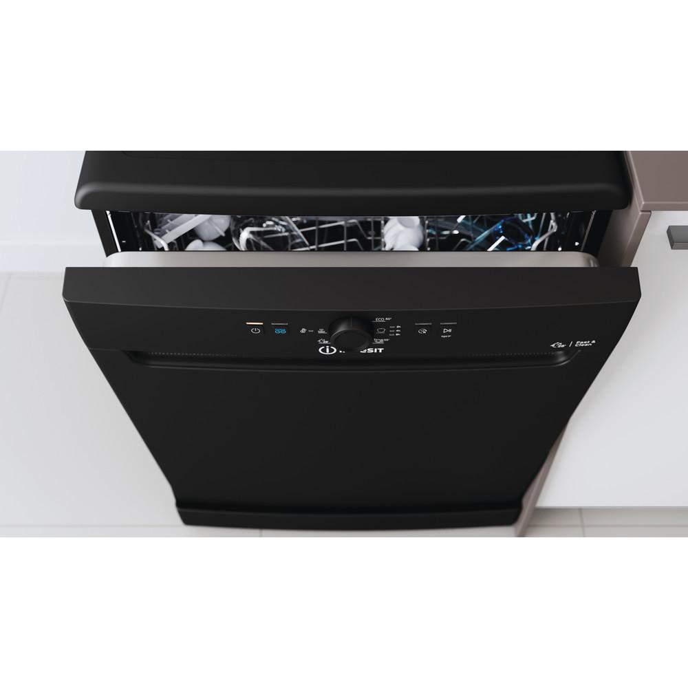 Indesit Dishwasher Free-standing DFE 1B19 B UK Free-standing F Lifestyle control panel
