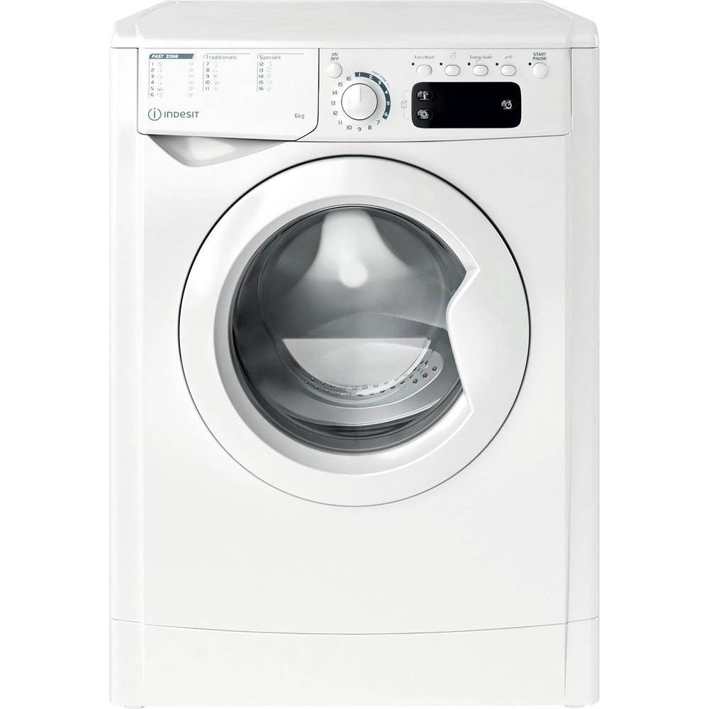 Indesit Waschmaschine Freistehend EWE 61251E W EU N Weiß Frontlader F Frontal