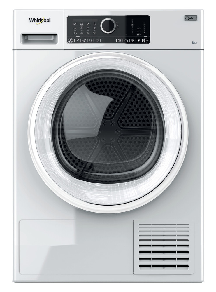 Whirlpool Dryer ST U 82 EU Bela Frontal
