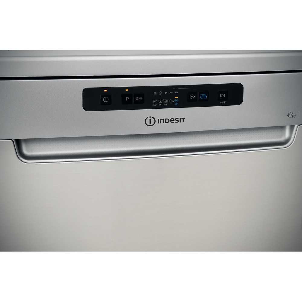 Indesit Посудомоечная машина Отдельностоящий DFC 2C24 A X Отдельностоящий A Control panel