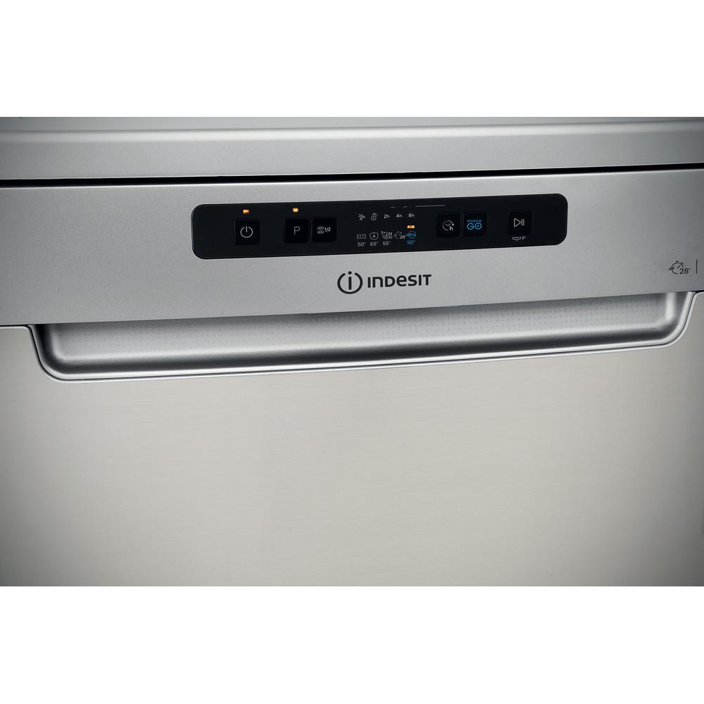 Indesit Lave-vaisselle Pose-libre DFC 2C24 A X Pose-libre E Control panel