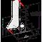 Whirlpool Hotte Encastrable AKR 685/1 IX Inox Mural Mécanique Frontal