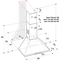 Whirlpool Hood Vgradni AKR 685/1 IX Inox Wall-mounted Mehansko Frontal