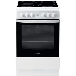 Indesit Cuisinière IS5V5GCW/E Blanc Electrique Frontal