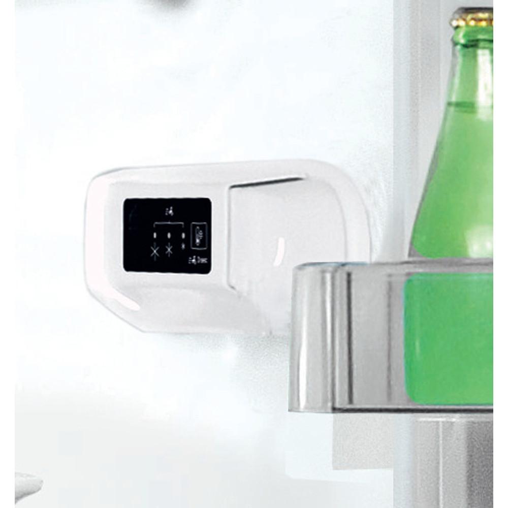 Indesit Lodówka z zamrażarką Wolnostojące LI8 S1E K Czarny Dwudrzwiow(y)a Lifestyle control panel