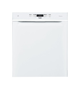 Whirlpool-opvaskemaskine: hvid farve, fuld størrelse - WUO 3O33 PL