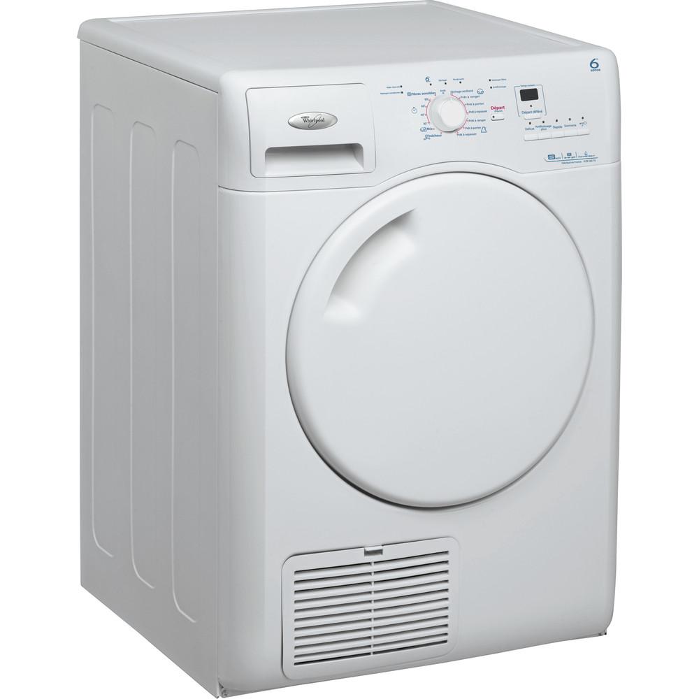Whirlpool torktumlare: fristående, 8 kg - AZB 8670