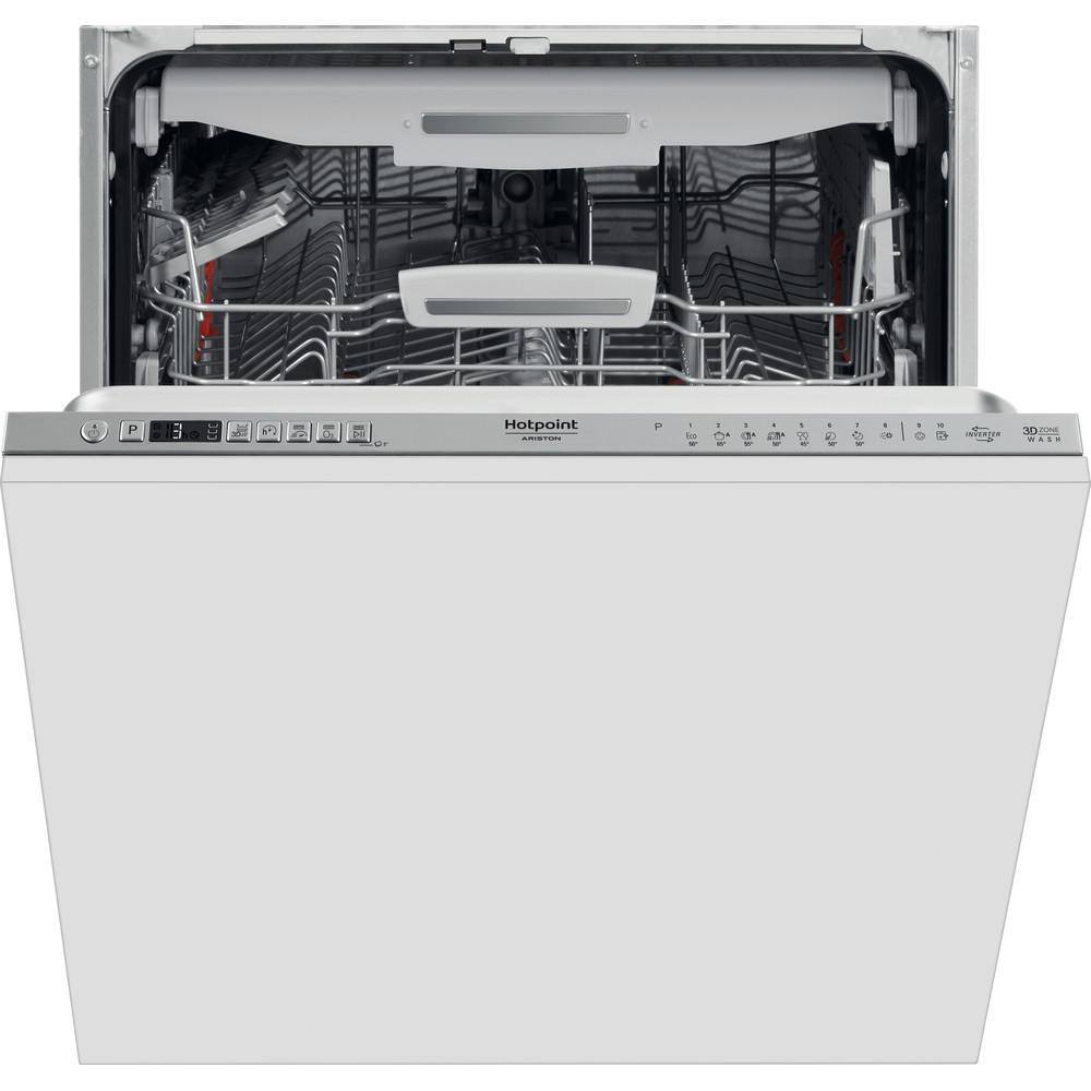 Hotpoint_Ariston Съдомиялна машина За вграждане HIO 3T133 WFO За пълно вграждане D Frontal