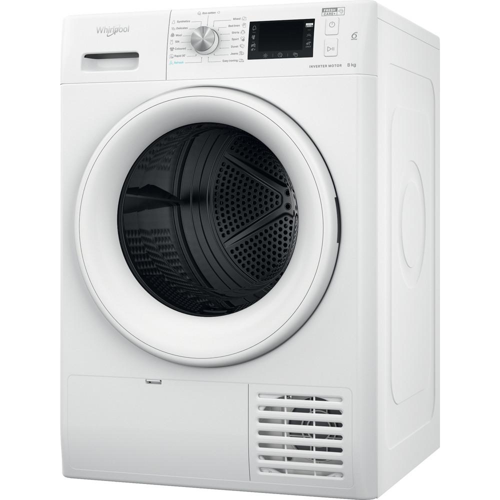 Whirlpool värmepumpstumlare: fristående, 8 kg - FFT M22 8X2 EE