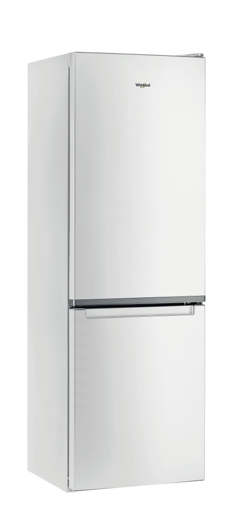 Whirlpool Fridge/freezer combination Samostojeća W5 821E W Bela 2 vrata Perspective