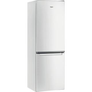 Whirlpool Kombinacija hladnjaka/zamrzivača Samostojeći W5 821E W 2 Bijela 2 doors Perspective