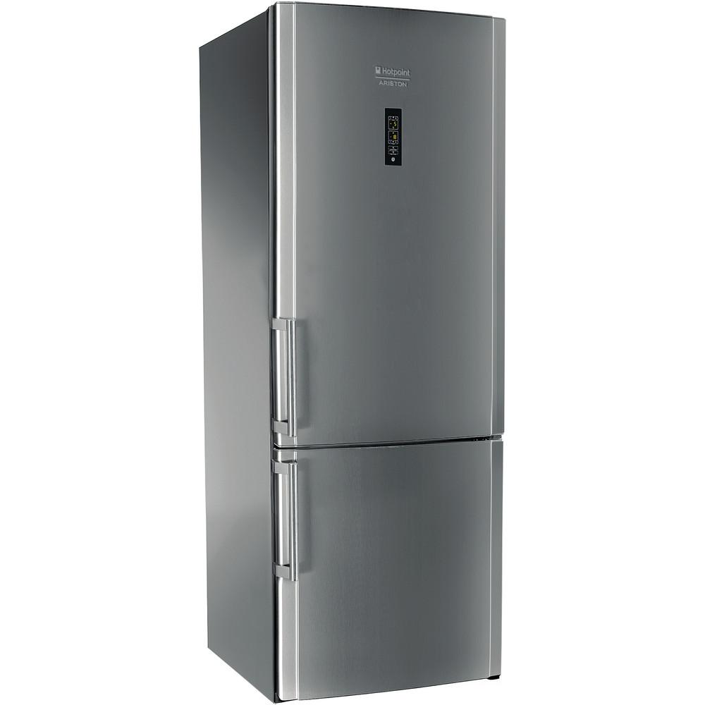 Hotpoint_Ariston Combinazione Frigorifero/Congelatore Libera installazione EU HA7BY 9321 NFX Inox 2 porte Perspective
