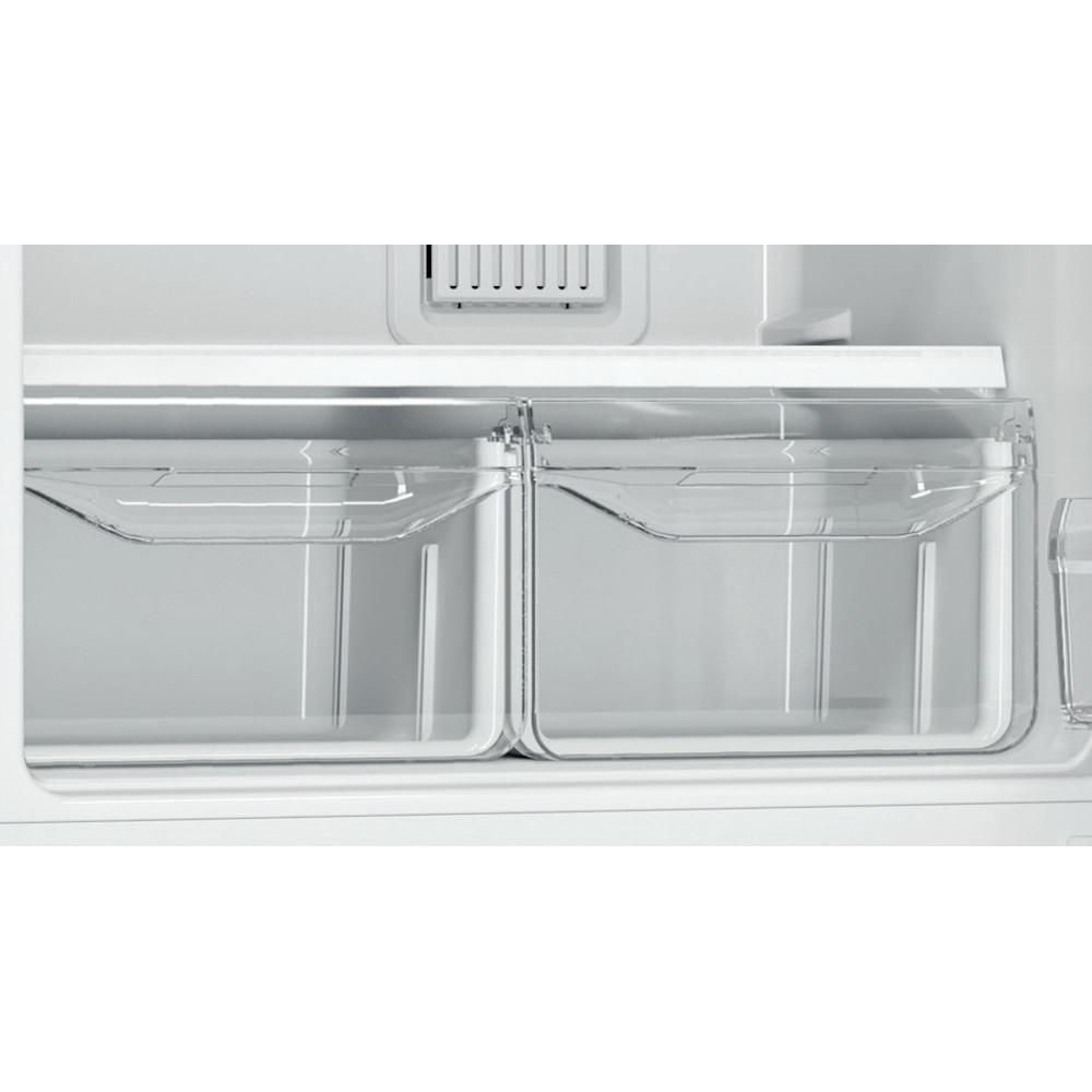 Indesit Холодильник с морозильной камерой Отдельностоящий ITF 016 W Белый 2 doors Drawer