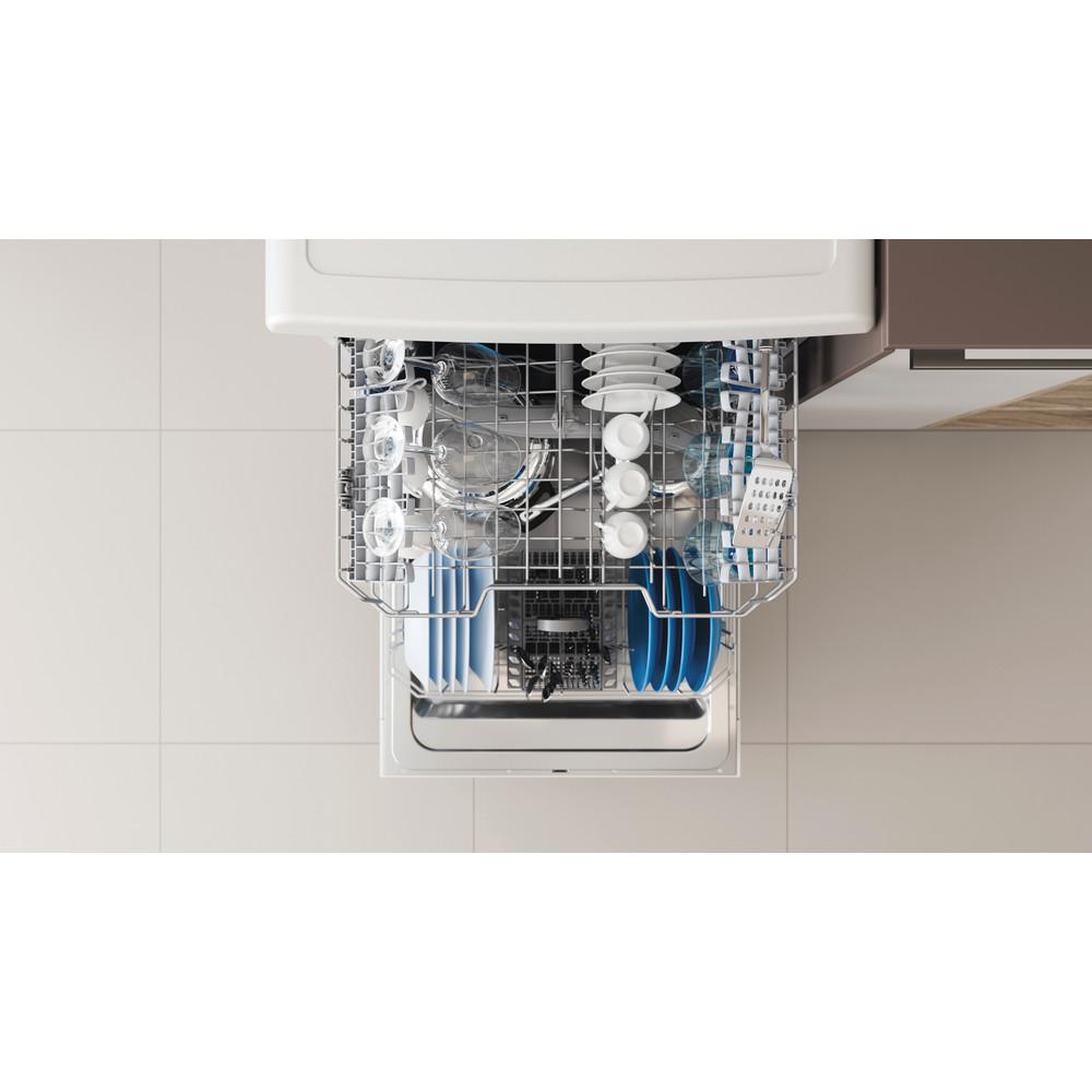 Indesit Lave-vaisselle Pose-libre DFE 1B19 14 Pose-libre F Rack
