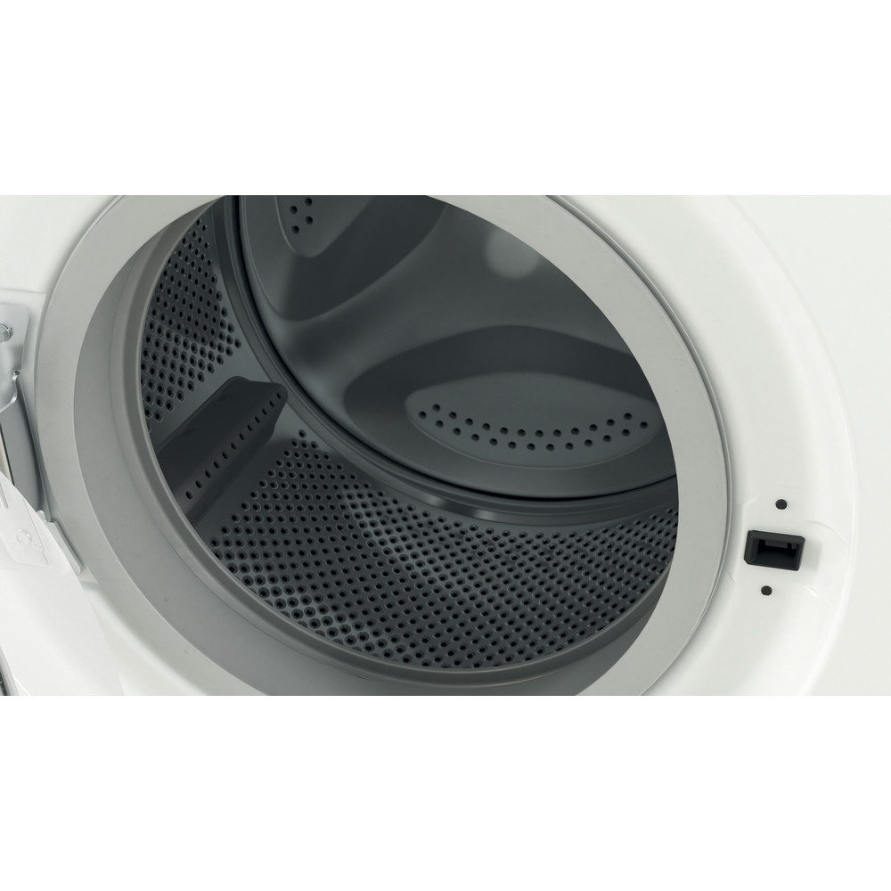 Indesit Перална машина Свободностоящи EWC 81483 W EU N Бял Предно зареждане D Drum