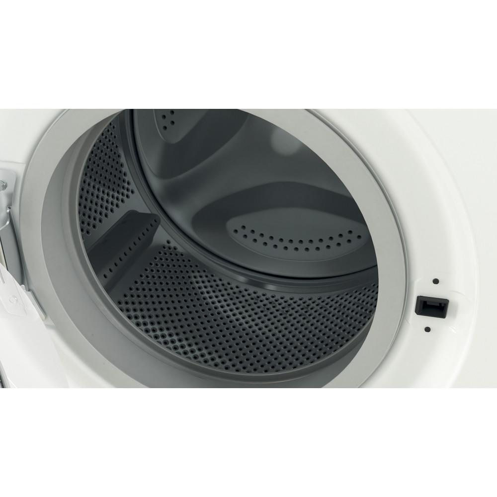 Indesit Wasmachine Vrijstaand EWC 81483 W EU N Wit Voorlader D Drum